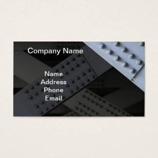 Massive Bridge Girders with Nuts and Bolts Business Card