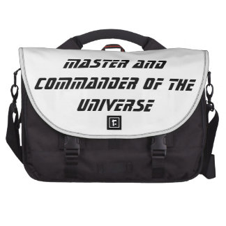 Master and Commander of the Universe Bags For Laptop