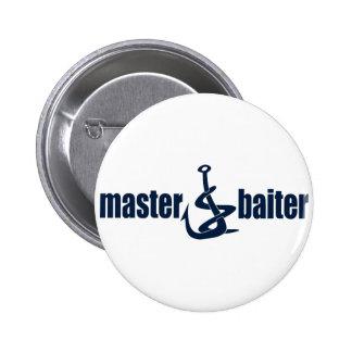 Master Baiter 6 Cm Round Badge