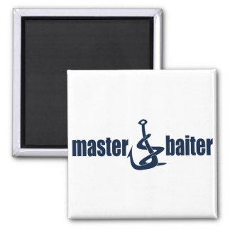 Master Baiter Square Magnet