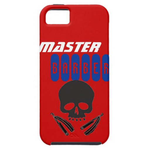 Master Barber IPhone Case Razors iPhone 5 Case