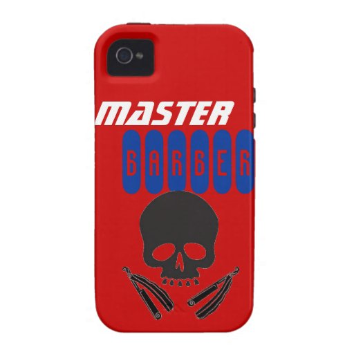 Master Barber IPhone Case Razors iPhone 4 Cover