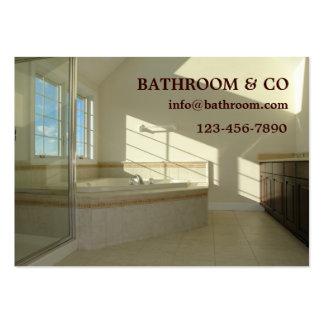 master bathroom business card templates