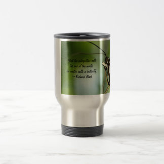Master Butterfly Photo and quote Coffee Mugs