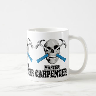 Master Carpenter Skull Coffee Mug