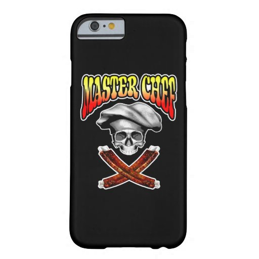 Master Chef Skull v6 iPhone 6 Case