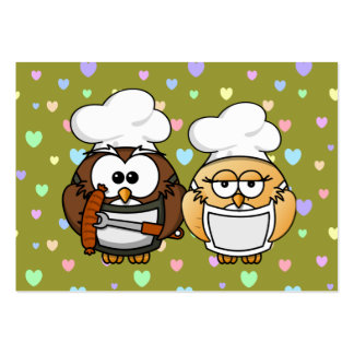 master chefs owl pack of chubby business cards