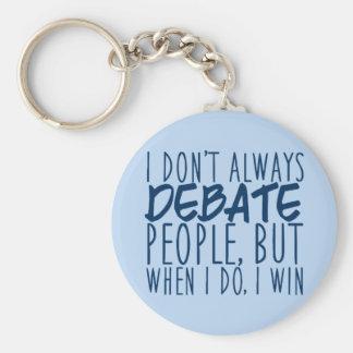 Master Debater Key Ring