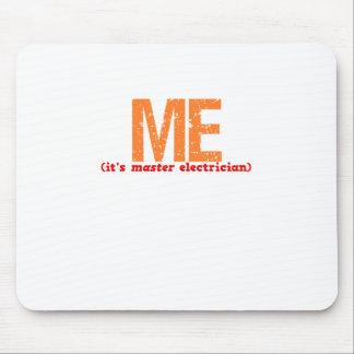 Master Electrician Description Mouse Pad