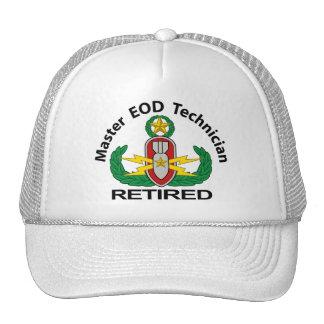 Master EOD in colour Retired Cap