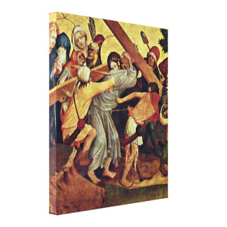 Master Francke - The Cross of Christ Stretched Canvas Prints