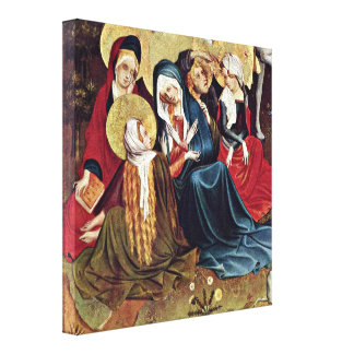 Master Francke - The women at the Cross Gallery Wrapped Canvas