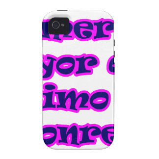 Master frases 15.08 iPhone 4 case