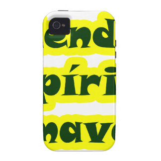 Master frases 17.02 vibe iPhone 4 case