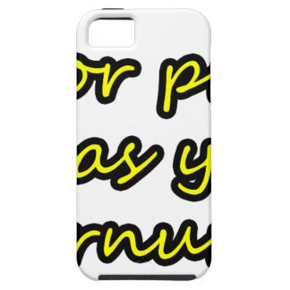 Master frases 8 iPhone 5 cover