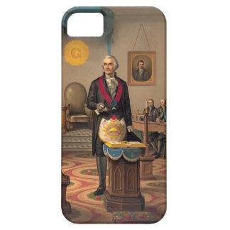 Master Freemason Washington 1870 iPhone 5 Cases