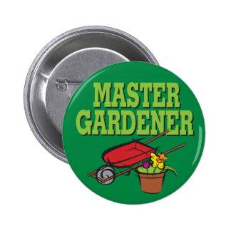 Master Gardener 6 Cm Round Badge
