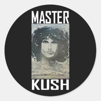 MASTER KUSH CLASSIC ROUND STICKER
