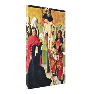 Master Life of Mary - Cross Stretched Canvas Print