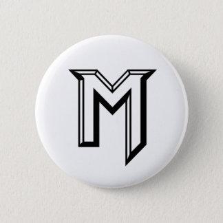 Master M Logo 6 Cm Round Badge