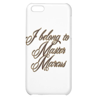Master Marcus Cover For iPhone 5C