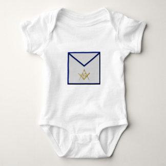 Master Mason Apron Baby Bodysuit