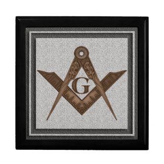Master Mason Fancy Square Large Square Gift Box