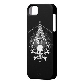 Master Mason iphone case skull iPhone 5 Covers