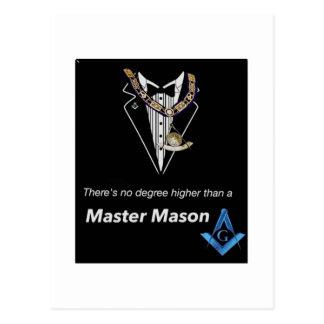 Master Mason Postcard