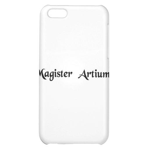 Master of arts iPhone 5C case