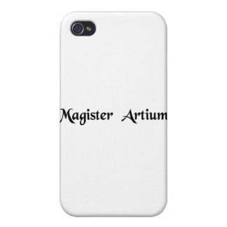 Master of arts iPhone 4 cover
