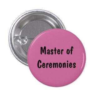 Master of Ceremonies Pinback Button