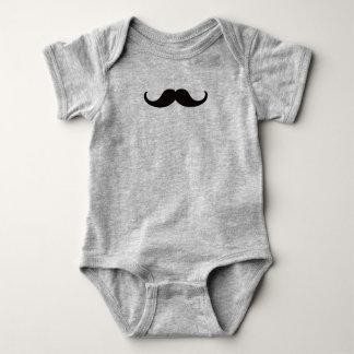 Master of Disguise Mustache Customizable Baby Bodysuit