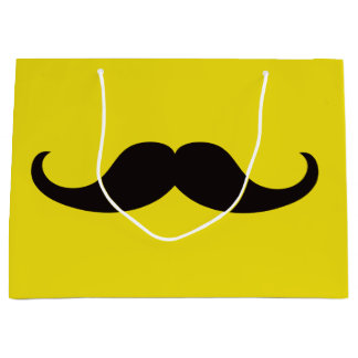 Master of Disguise Mustache Customizable Large Gift Bag