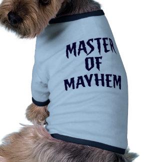 Master Of Mayhem - Blue Pet Tee
