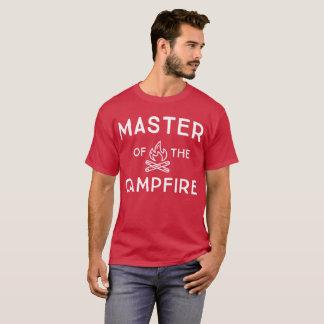 Master of the campfire fun camping humor T-Shirt