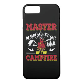 Master Of The Campfire Funny Camping Shirt iPhone 8/7 Case