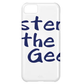 Master of the geeks case for iPhone 5C
