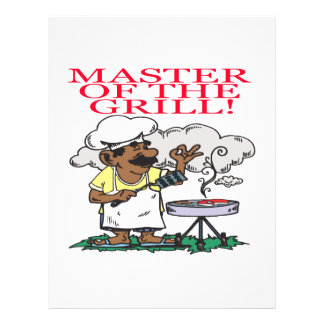Master Of The Grill Flyer Design