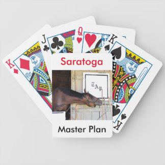 Master Plan Bicycle Playing Cards