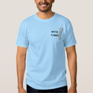 Master Plumber Embroidered Shirt