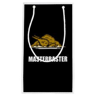 Masterbaster Funny Holiday Turkey Small Gift Bag