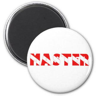masterdiver copy 6 cm round magnet