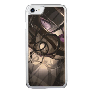 Masterful Mysterious Abstract Carved iPhone 8/7 Case