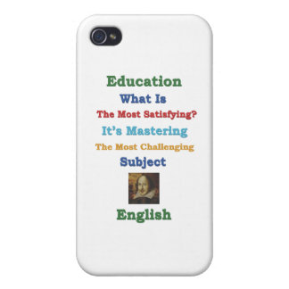 mastering satisfying English 3D.ai iPhone 4/4S Covers