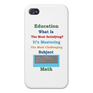 mastering satisfying Math 3D iPhone 4 Cover