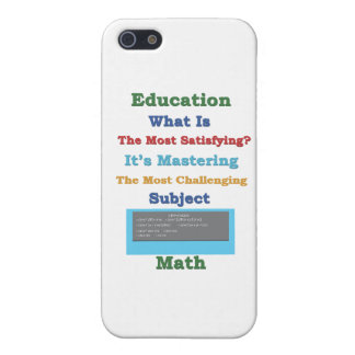 mastering satisfying Math 3D iPhone 5 Cases