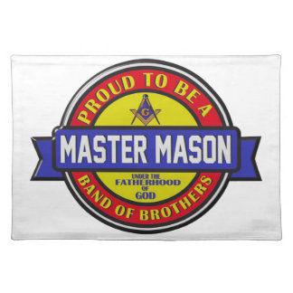 mastermason placemat