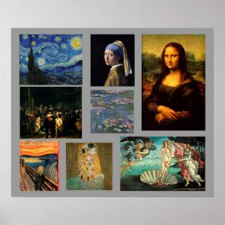 Masterpiece Art Gallery Poster