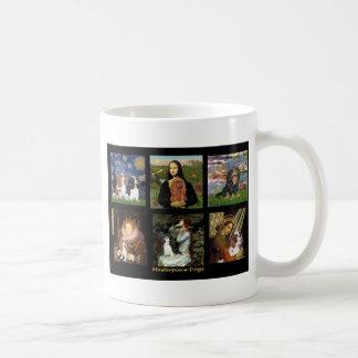 Masterpiece Composite - Cavaliers Basic White Mug